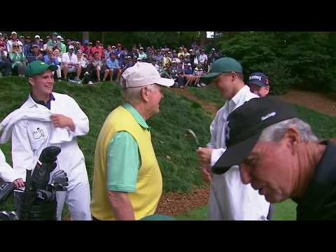 GT Nicklaus sinks hole-in-one at The Masters (FULL VIDEO)
