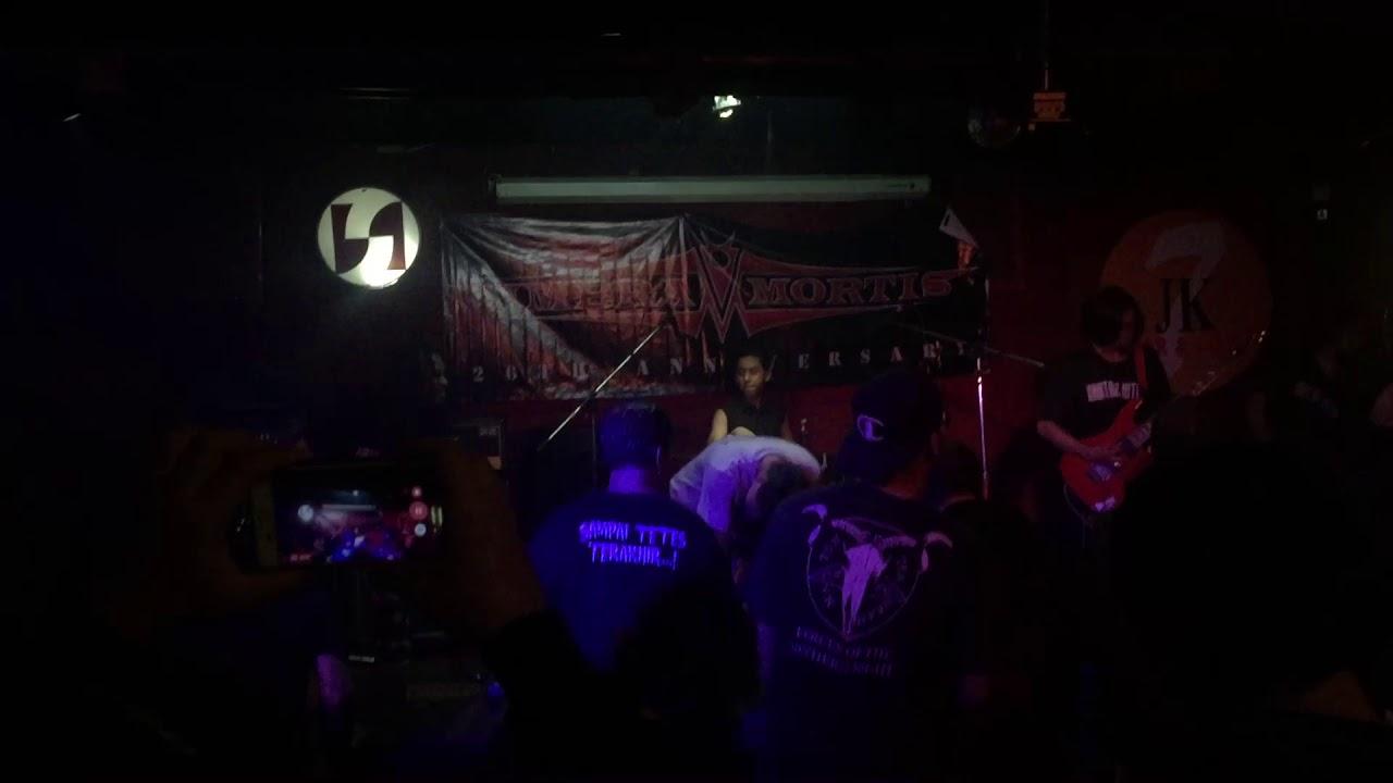 Reborn Damnation Live at JK7 anniversary Of Umbra Mortis