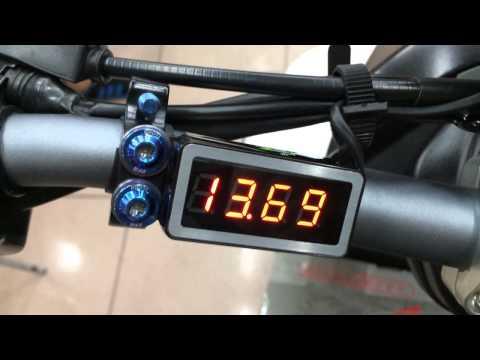 [RCE]電壓錶-12V車用電源診斷系統
