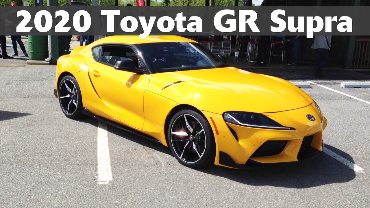 2020 Toyota Gr Supra First Drive Start Up Exhaust Sound Drifting