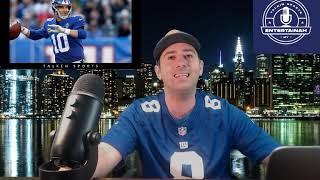 New York Giants- Daniel Jones has ankle sprain. Eli Manning likely to start vs Philadelphia Eagles!