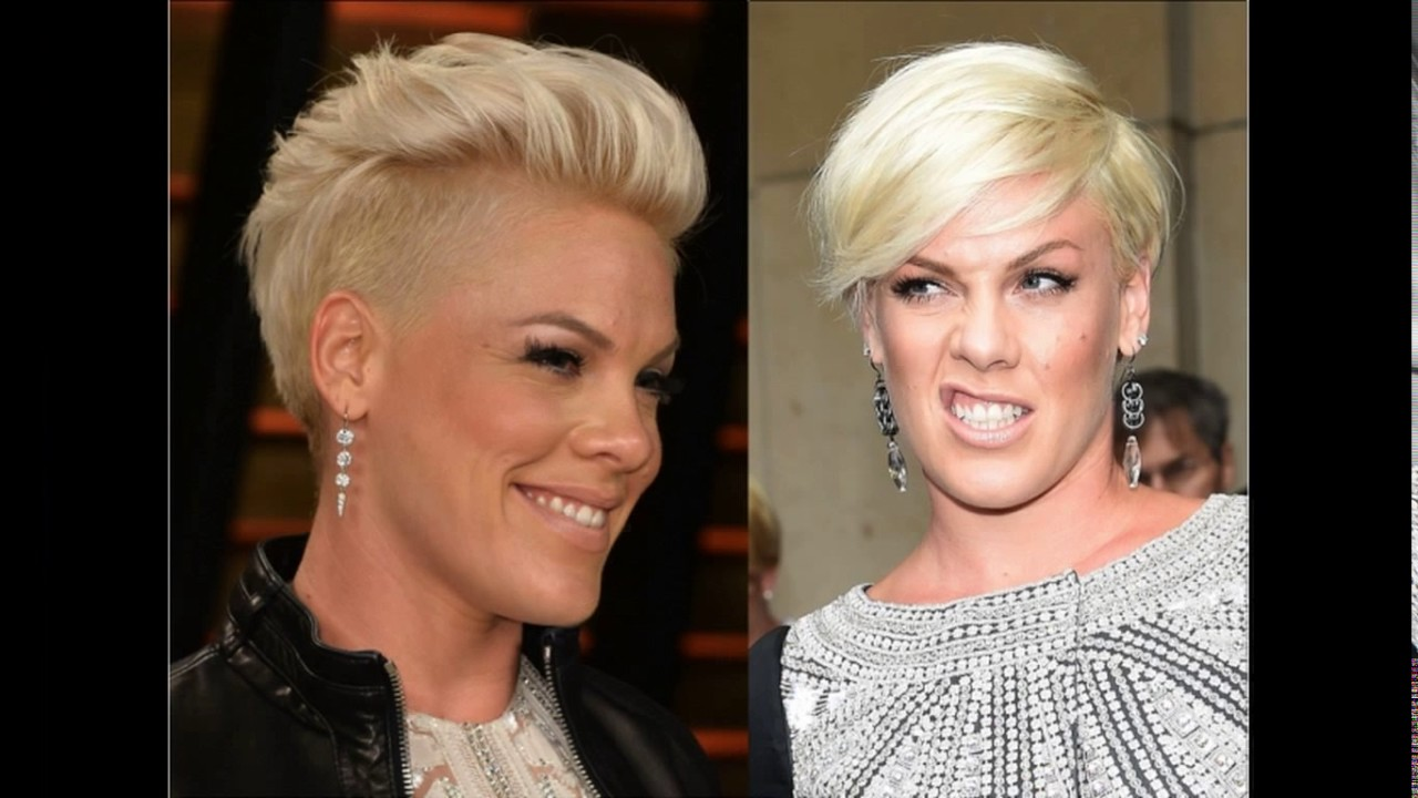 short haircuts for round faces and short necks