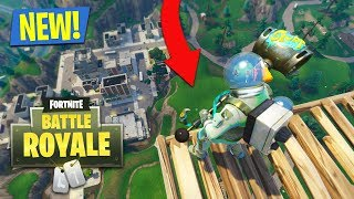 SURVIVE A MAX HEIGHT FALL!! (Fortnite Battle Royale)