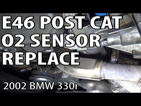 E46 Post Cat Oxygen Sensor Replacement M54rebuild 3 Youtube
