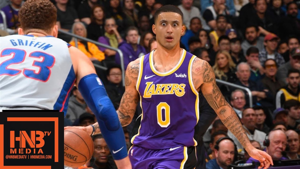 Pistons Vs Lakers: Los Angeles Lakers Vs Detroit Pistons Full Game Highlights