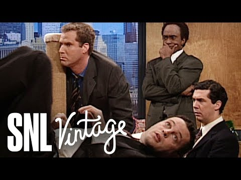 Saturday Night Live vintage Will Ferrell and Jimmy Fallon sketches