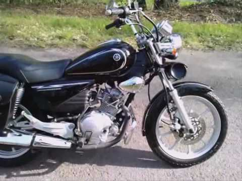 la ybr125 custom cruiser de laurent youtube. Black Bedroom Furniture Sets. Home Design Ideas