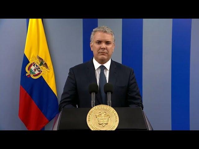 """Duque: """"Hoy hablaron los colombianos y los estamos escuchando"""""""