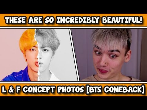 BTS LOVE YOURSELF 結 Answer L & F Concept Photos REACTION
