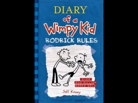 Diary Of A Wimpy Kid Rodrick Rules Book Review Youtube