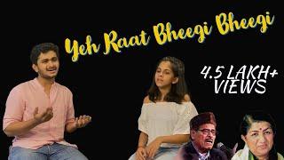 Yeh Raat Bheegi Bheegi Cover Ft. Vasudev Krishna | Uthara Unnikrishnan