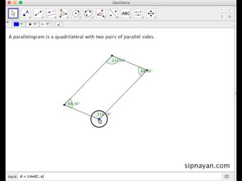 QU03 Definition of Parallelogram and Its Properties