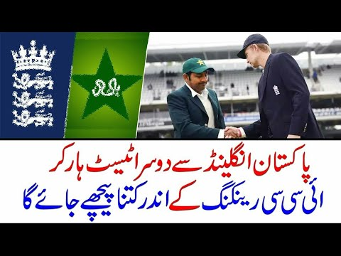 Pakistan Test Ranking After Wining From England 2018 thumbnail