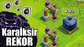 Tarihi REKORU Kırdım (Kara İksir Kasma) - 1 Saatte Ne Kadar Kastım ? - Clash of Clans