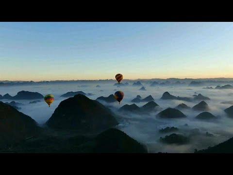 شاهد.. رحلة فوق الغيوم بالمناطيد في الصين  - نشر قبل 2 ساعة
