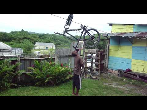 THE THINGS WE DO TO KEEP OUR SANITY IN THE POVERTY AREA OF JAMAICA