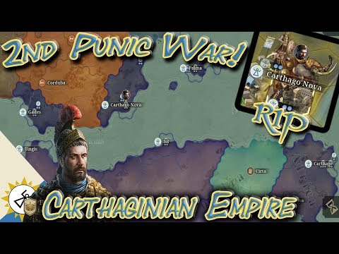 Carthage Empire Punic War Conquest #1; No Generals No Tech! Great Conqueror Rome
