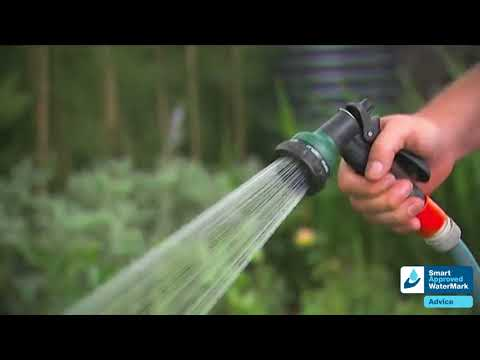 Saving water in the garden