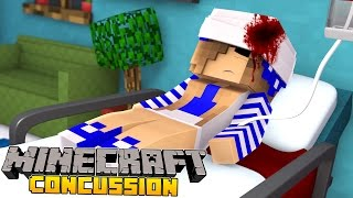 Minecraft Concussion-LITTLE CARLY IS IN A COMA!!