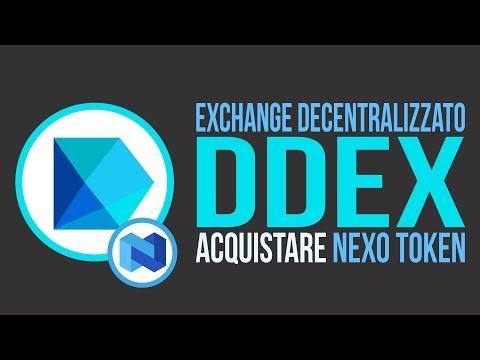 Rictoken - Nexo - Acquisto su DDEX