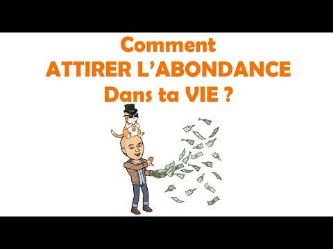 Comment Attirer L Abondance comment attirer l'abondance : la vraie loi de l'attraction - youtube