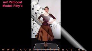 Tanzkleid / Dancedress zum Petticoat Vancouver
