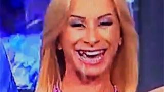 Prueba de q se le cayo el diente a Sonya Cortes en SLOW MOTION y ZOOM!
