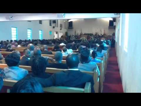 The Sermon Tony Roach Funeral  (Short clip)
