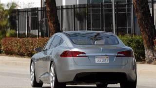 Tesla Motors Model S Sedan First Looks