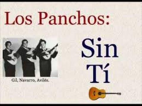 Sin Ti - Los Panchos - Karaoke