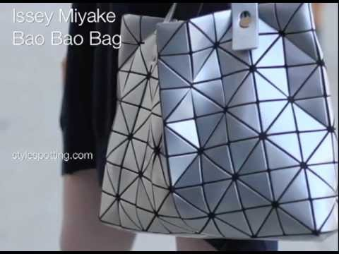 Style Spotting: The Bao Bao Bag