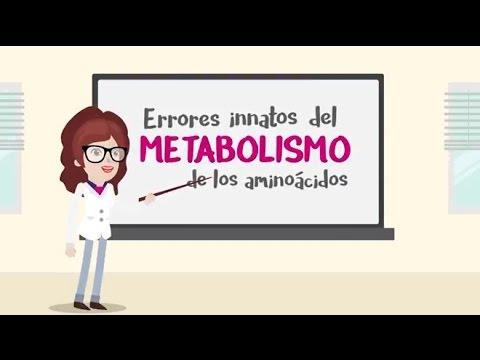 Errores Innatos del Metabolismo de los aminoácidos   Mundo Metabólico   Nutricia