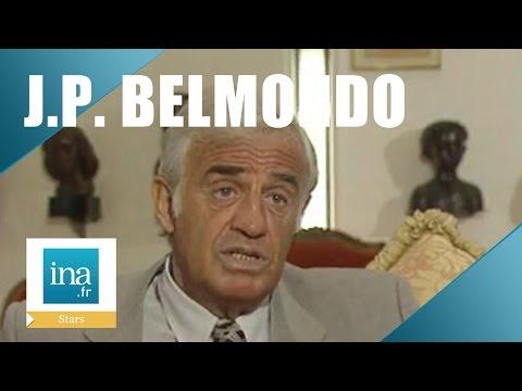La colère de Jean-Paul Belmondo contre le cinéma | Archive INA