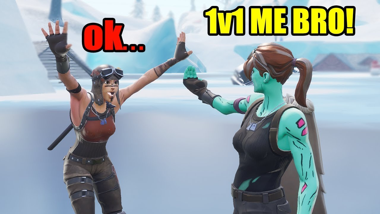 Renegade Raider Thumbnail: Ghoul Trooper 1V1's Renegade Raider For His Account...LoL