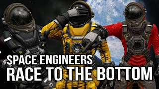 Space Engineers - Race To The Bottom! |Ep2| Gliding to Victory