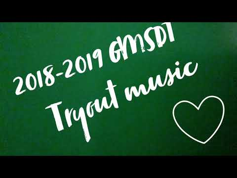 Greeneville middle school dance team tryout music 2018-2019