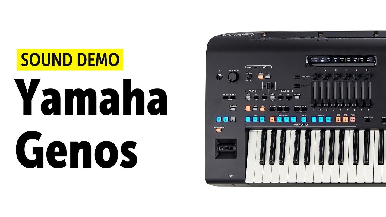 yamaha genos sound demo no talking youtube. Black Bedroom Furniture Sets. Home Design Ideas
