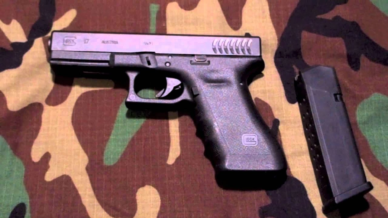 Glock 17 RTF2 Full Size 9mm Pistol Overview and Shots - YouTube