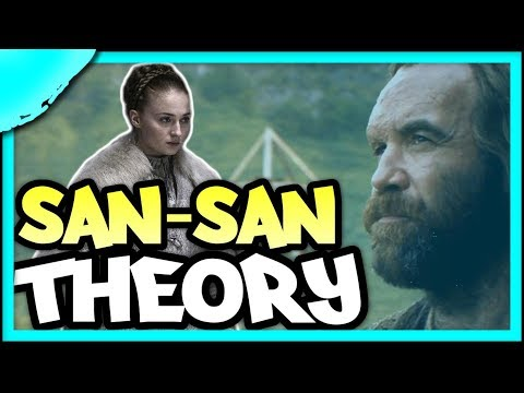 SANSAN Theory | GRRMs Hint about the Hound and Sansa | Game of Thrones Season 8