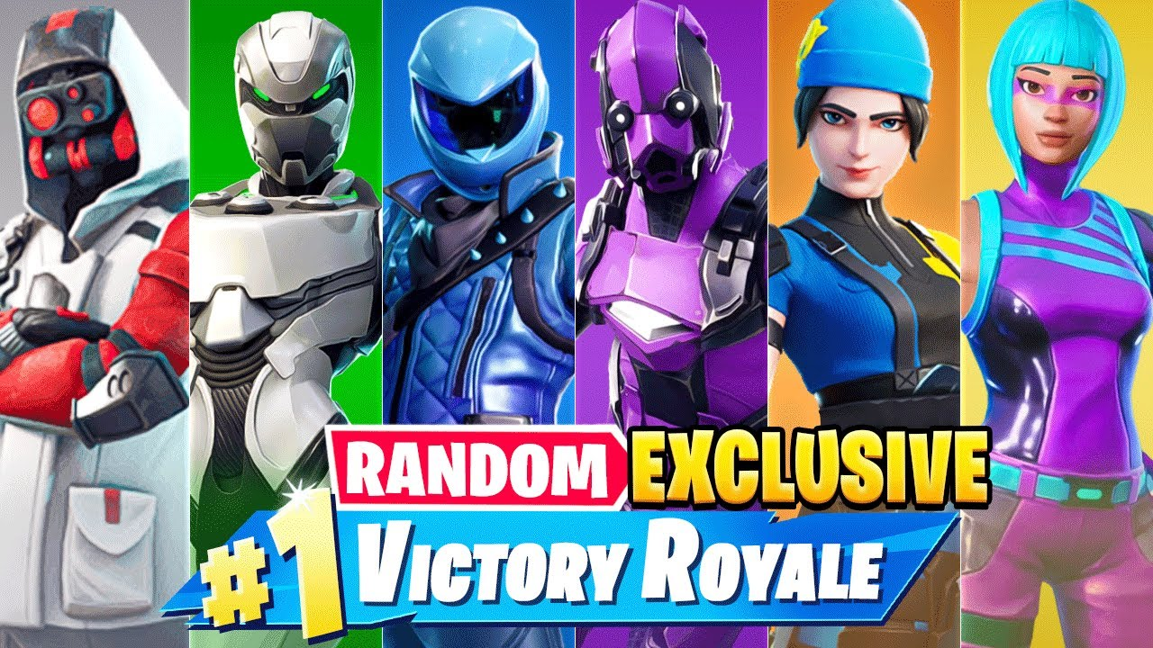 The *RANDOM* EXCLUSIVE BOSS Challenge in Fortnite!