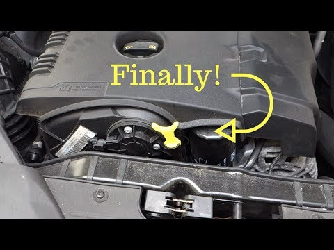 How to add an oil dipstick to Audi A4 2.0TFSI 211hp