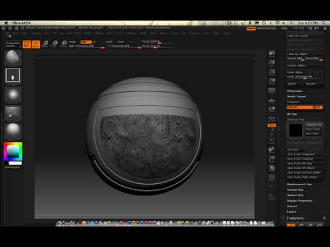 0209 Zbrush (painting with texture)