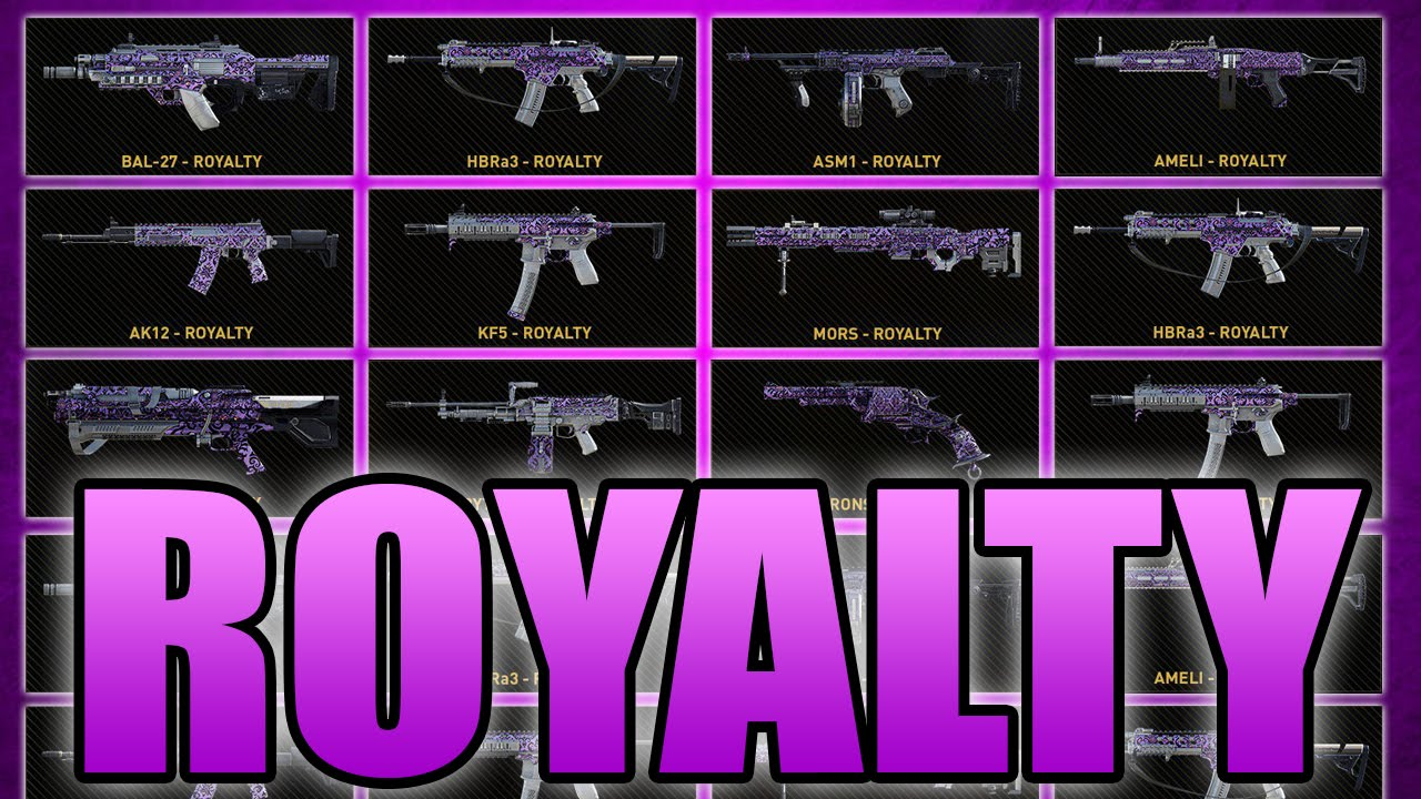 Advanced Warfare All Gun Variants