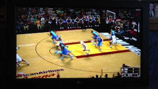 NBA 2K13 Xbox 360 DEMO Gameplay (First Try) OFF SCREEN