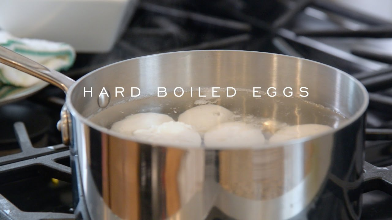 How To Make The Perfect Hard Boil Egg With Bill St John