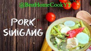 Pork Sinigang | Delightful Classic Filipino Sinigang Recipe | Pinoy Dishes Abroad