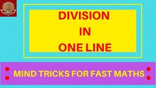 HOW TO DIVIDE FAST MENTALLY / MENTAL DIVISION STRATEGY for 2nd Grade, 3rd Grade/ SHORT DIVISION