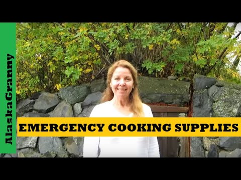 Prepping Emergency Cooking Supplies To Stockpile