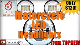 Does It Suck? Cheap LED Motorcycle Headlight (TOPNEW)