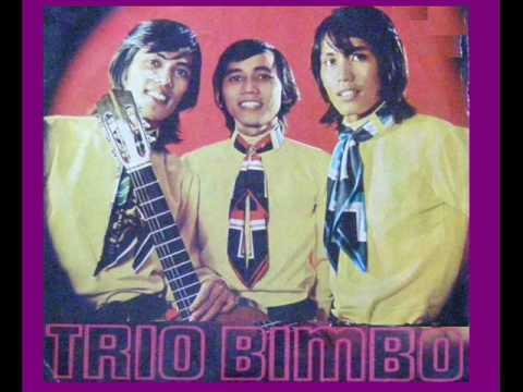 Telah Berdaun Rimba Jati - TRIO BIMBO        (P'Dhede Tjiptamas).wmv